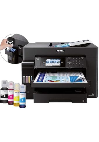 Epson Multifunktionsdrucker »EcoTank ET-16650« kaufen