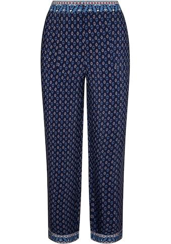 Pepe Jeans Schlupfhose »ROMINA«, mit allover Print und farblich abgesetzten Bündchen kaufen