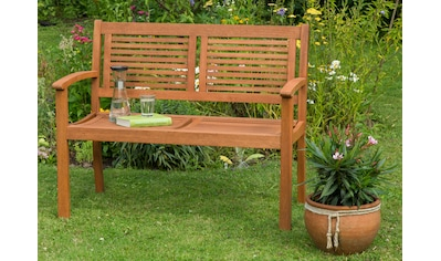 MERXX Gartenbank »Cordoba«, Eukalyptus, 110x90x58 cm, braun kaufen