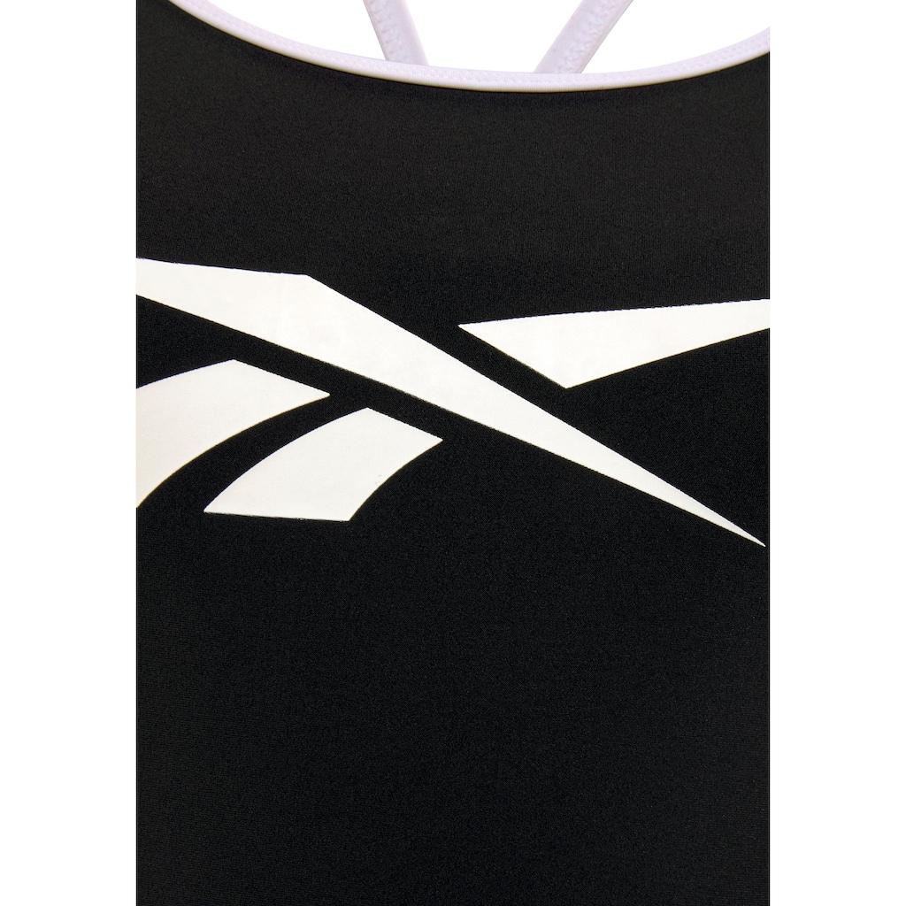 Reebok Badeanzug, mit Markenlogo