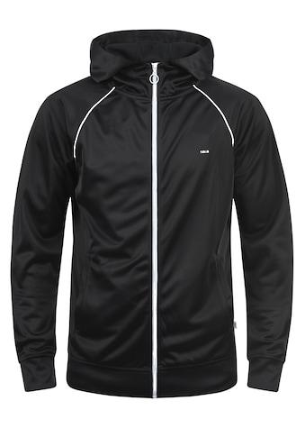 Solid Trainingsjacke »Leandros«, Sweatshirtjacke mit weißem Reißverschluss kaufen