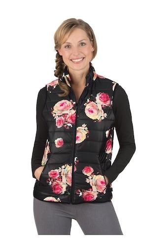Trigema Steppweste mit floralem Muster kaufen