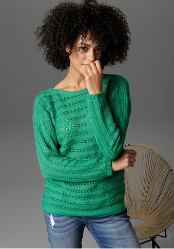 Aniston CASUAL Strickpullover, in trendiger Farbpalette - NEUE KOLLEKTION kaufen