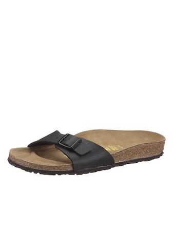 Birkenstock Pantolette »MADRID«, in schmaler Schuhweite, mit ergonomisch geformtem Fußbett kaufen