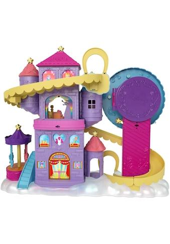 Mattel® Spielwelt »Polly Pocket, Pollyville Regenbogen-Einhornspaß Freizeitpark« kaufen