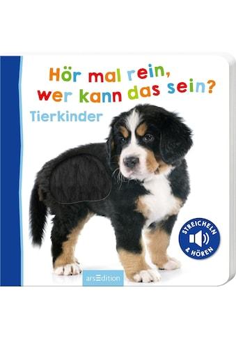 Buch »Hör mal rein, wer kann das sein? Tierkinder / DIVERSE« kaufen