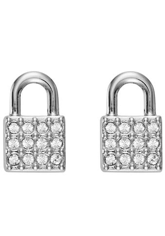 DKNY Paar Ohrstecker »Padlock Stud ER (RH), 5520119«, mit Swarovski® Kristallen kaufen