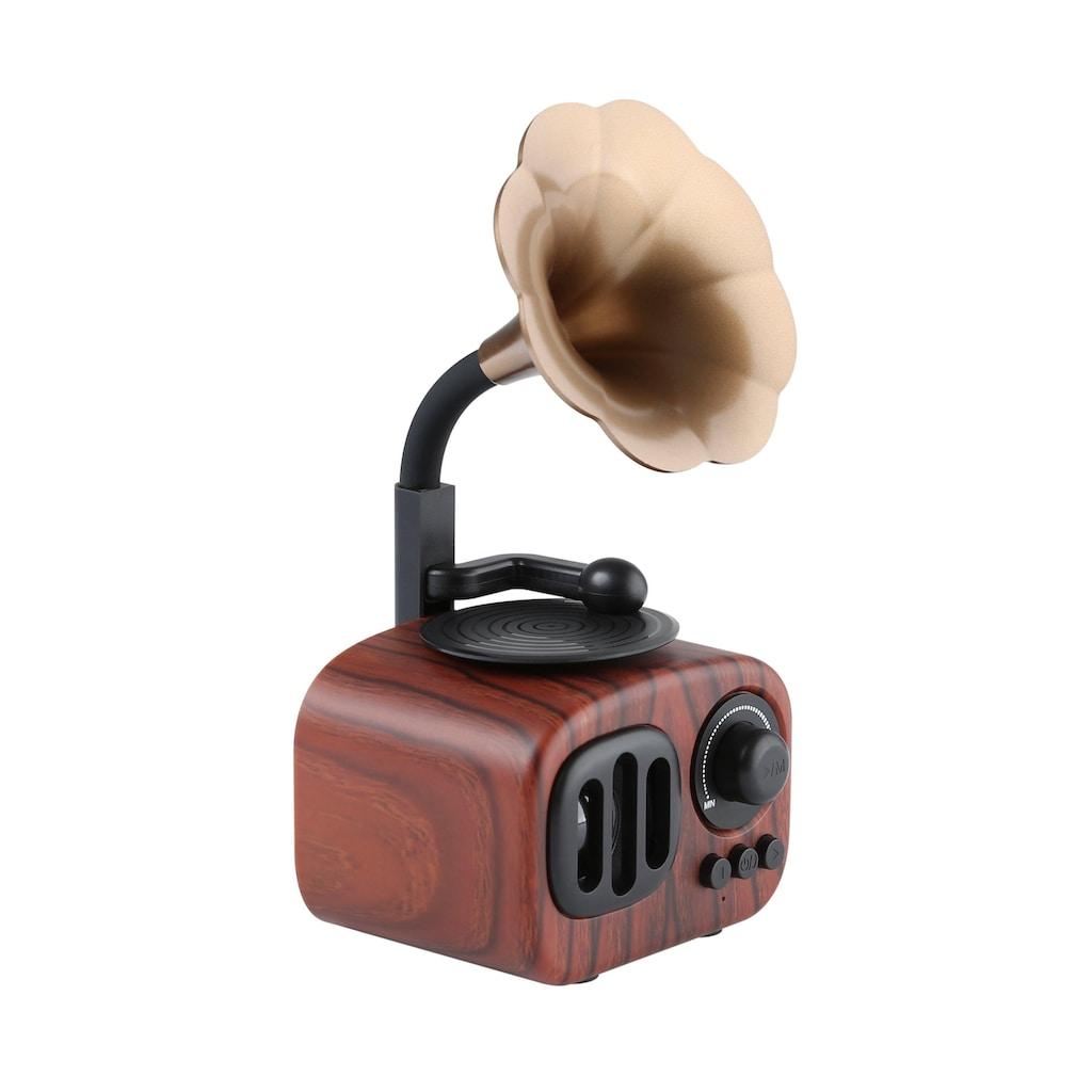 NABO Bluetooth-Lautsprecher »Retro Mini«