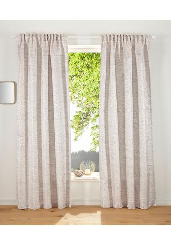 Guido Maria Kretschmer Home&Living Vorhang »GARCIA«, mit leicht glänzende Struktur kaufen