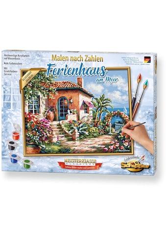 Schipper Malen nach Zahlen »Meisterklasse Premium - Ferienhaus am Meer«, Made in Germany kaufen
