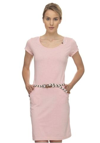 Ragwear Shirtkleid »MONTANA ORGANIC«, (2 tlg., mit abnehmbarem Gürtel), mit seitlichen Eingrifftaschen kaufen