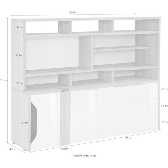Maja Möbel Computerschrank »eDJUST MINIOFFICE 5508«
