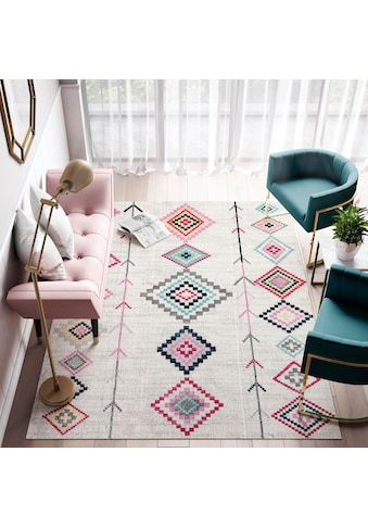 CosmoLiving by Cosmopolitan Teppich »Bodrum Native«, rechteckig, 8 mm Höhe, Wohnzimmer kaufen