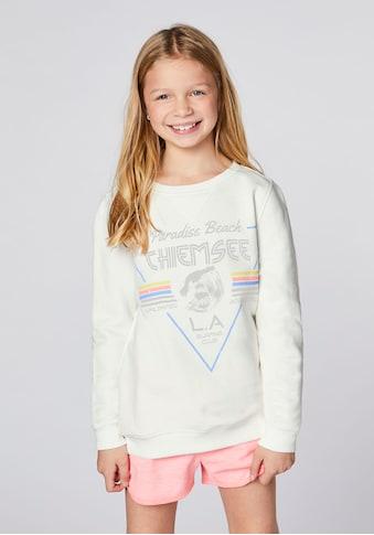 Chiemsee Sweatshirt »CHIEMSEE Sweatshirt für Mädchen« kaufen