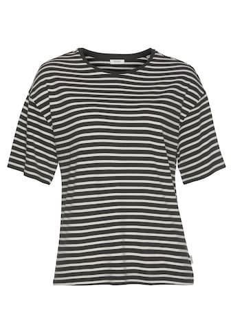 Marc O'Polo DENIM T-Shirt, mit tollem Ringelmuster kaufen