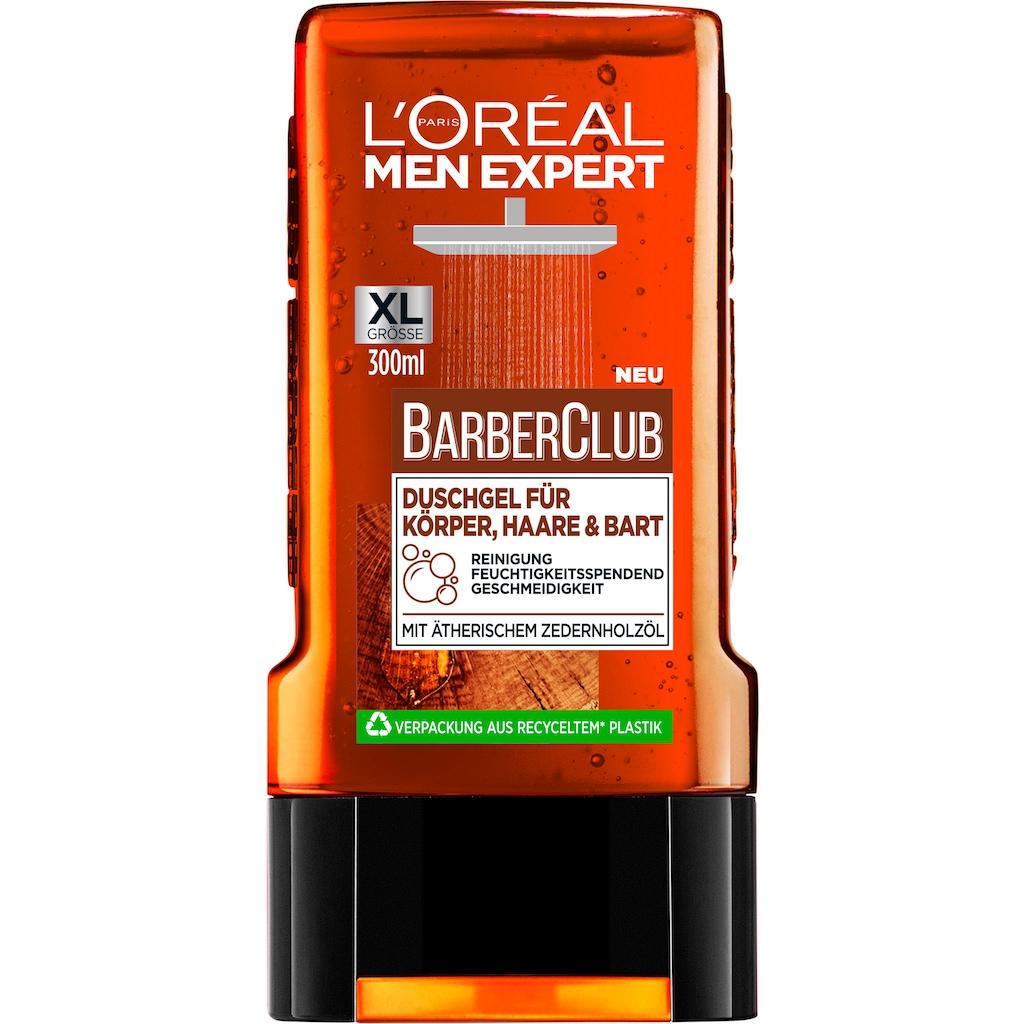 L'ORÉAL PARIS MEN EXPERT Bartpflege-Set »Barber Club Bag«, (3 tlg.)