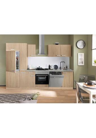 OPTIFIT Küchenzeile »Leer«, 300 cm breit, inkl. Elektrogeräte der Marke HANSEATIC kaufen