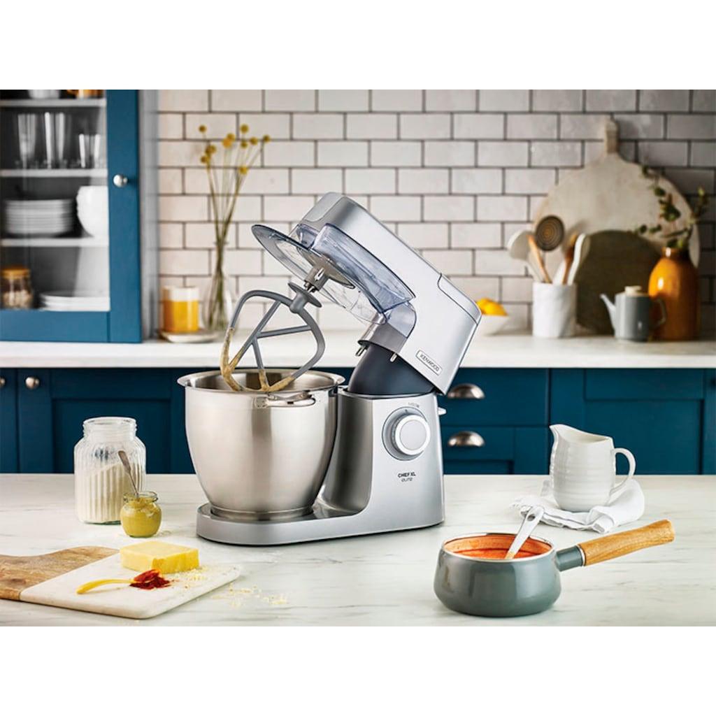KENWOOD Küchenmaschinenschüssel »Chef XL Elite Edelstahl-Rührschüssel KAT621SS«, Geeignet für alle Chef XL Elite Küchenmaschinen der KVL6000 Serie