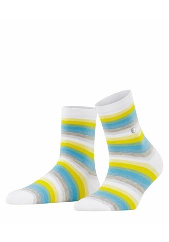 Burlington Socken »Organic Stripe«, (1 Paar), mit nachhaltigem Garn kaufen