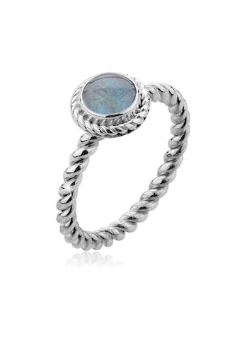 Nenalina Fingerring »Opal-Triplette Geburtsstein Oktober 925 Silber« kaufen