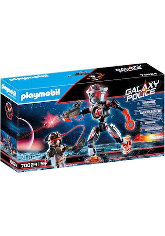 Playmobil® Konstruktions-Spielset »Galaxy Pirates-Roboter (70024), Galaxy Police«, Made in Europe kaufen