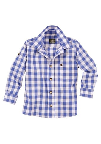OS-Trachten Trachtenhemd, Kinder mit Krempelärmel kaufen