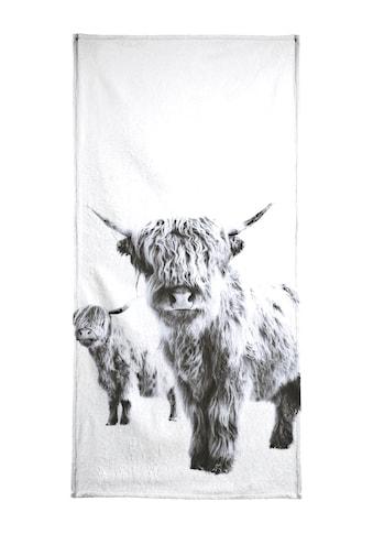 """Strandtuch """"Highland Cows"""", Juniqe kaufen"""