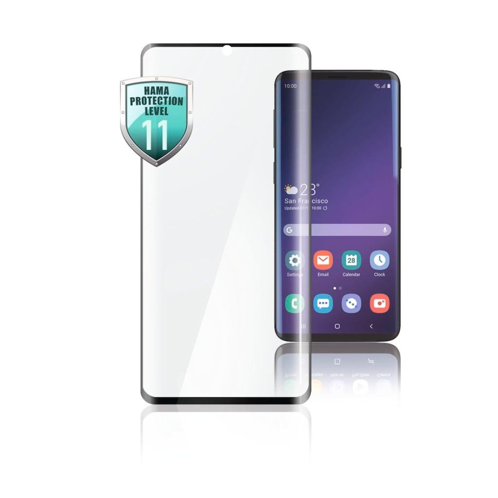 Hama Displayschutzglas »Displayschutz Schwarz«, für Samsung Galaxy S21 Ultra (5G)-Samsung Galaxy S21 (5G), für Samsung Galaxy S21 (5G)