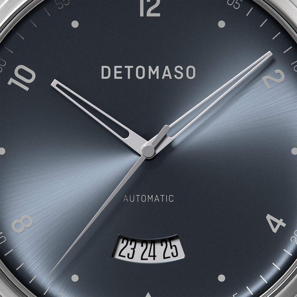 DETOMASO Automatikuhr »VIAGGIO AUTOMATIC SILVER BLUE«