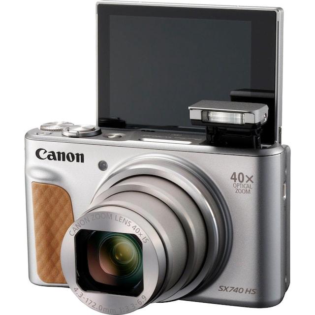 Canon »PowerShot SX740 HS« Kompaktkamera (20,3 MP, 40x opt. Zoom, Bluetooth WLAN (Wi-Fi))