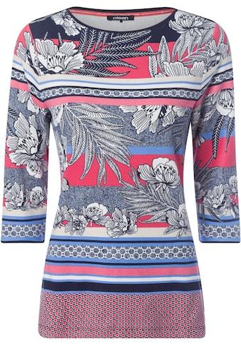Olsen Print-Shirt, mit Muster-Mix kaufen