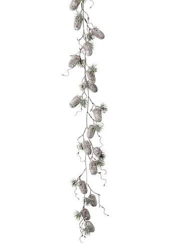 LeGer Home by Lena Gercke Kunstgirlande »Jade«, mit Zapfen in gefrosteter Optik, Länge ca. 127 cm kaufen