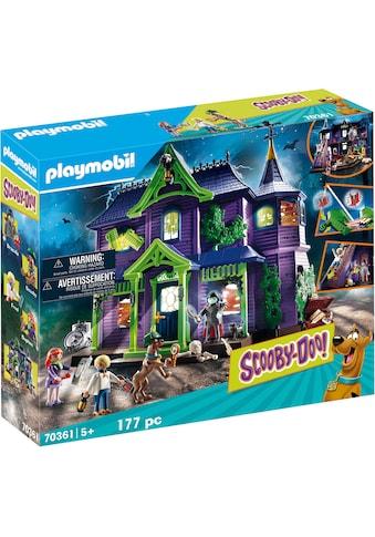 Playmobil® Konstruktions-Spielset »SCOOBY-DOO! Abenteuer im Geisterhaus (70361), SCOOBY-DOO!«, ; Made in Germany kaufen
