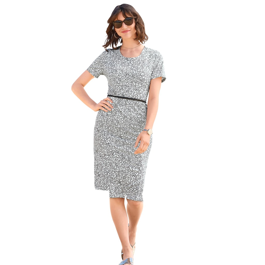 Classic Basics Druckkleid »Kleid«