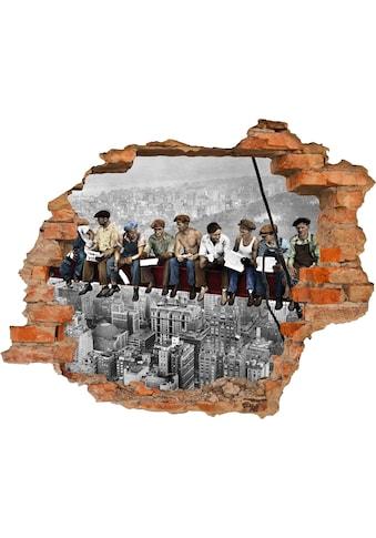 Conni Oberkircher´s Wandsticker »NY Builders« kaufen