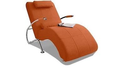 COLLECTION AB Relaxliege, in elegantem Design, wahlweise mit Kippfunktion, frei im... kaufen