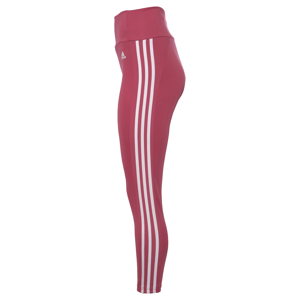 adidas Performance Funktionstights »DESIGNED TO MOVE HIGH-RISE 3-STREIFEN SPORT«