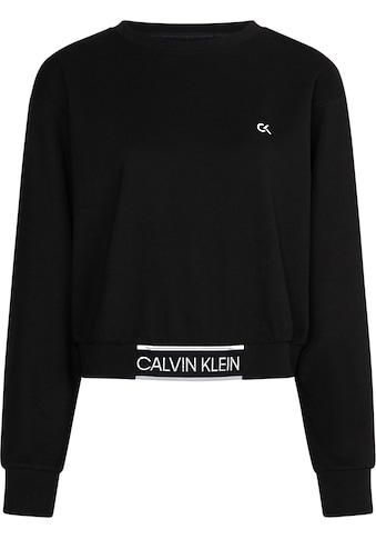 Calvin Klein Performance Sweatshirt »PW - CROPPED PULLOVER«, mit Calvin Klein... kaufen