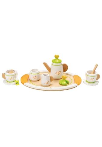 Hape Spielgeschirr »Teeservice für zwei«, (Set, 12 tlg.), aus Holz kaufen