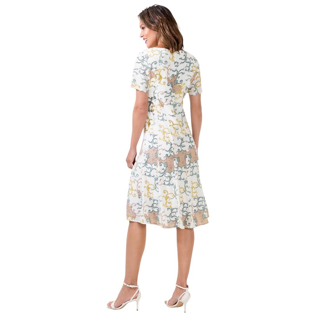 Alessa W. A-Linien-Kleid »Druck-Kleid«