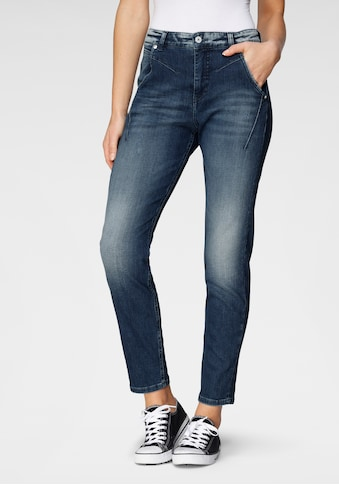 MAC Ankle-Jeans »Rich«, Coole Waschung und moderne Teilungsnähte kaufen
