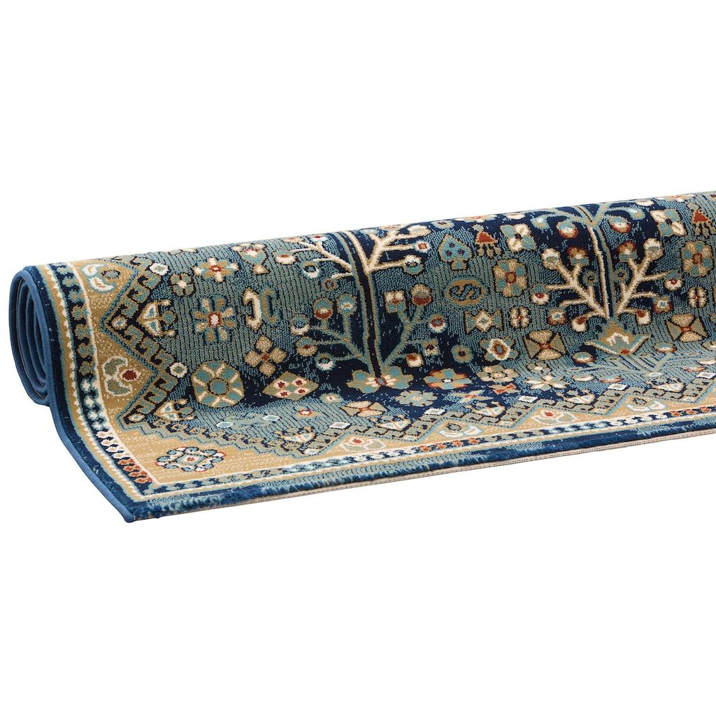 DELAVITA Teppich »Amelia«, rechteckig, 10 mm Höhe, Orient-Optik, Wohnzimmer