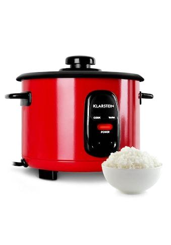 Klarstein Reiskocher rot 500W 1,5L Warmhaltefunktion kaufen