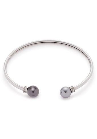 LEONARDO Armspange »Micca, 016959«, mit Zirkonia und imit. Perlen kaufen