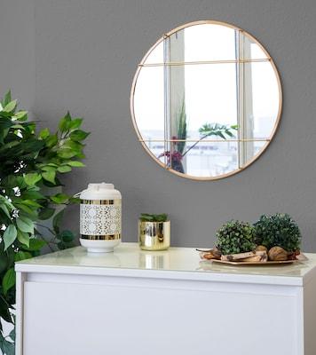 dekorativer Wandspiegel