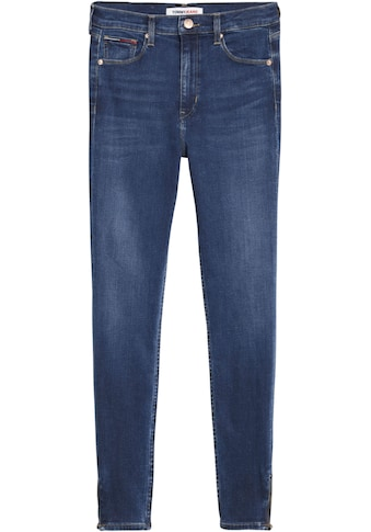 Tommy Jeans Skinny-fit-Jeans »SYLVIA HR SKNY NKL ZP BE154 DBST«, mit Tommy Jeans... kaufen