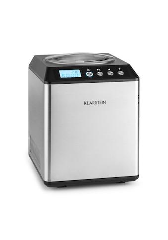 Klarstein Klarstein Vanilla Sky Eiscreme-Maschine Kompressor 2l 180W Edels kaufen
