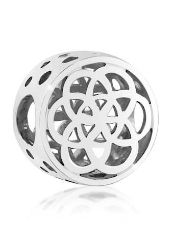 Nenalina Charm-Einhänger »Bead Blume des Lebens Ornament Glück 925 Silber« kaufen
