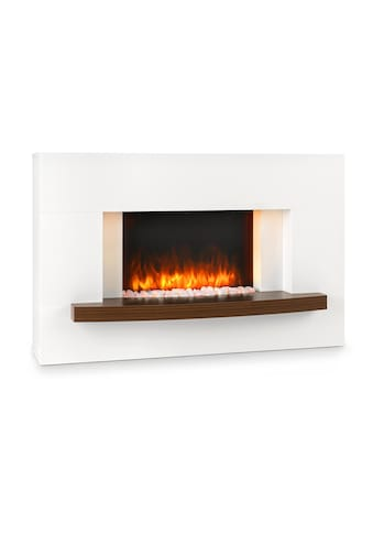 Klarstein Elektrischer Kamin 1000/2000W InstaFire Fernbedienung weiß »Montreux« kaufen