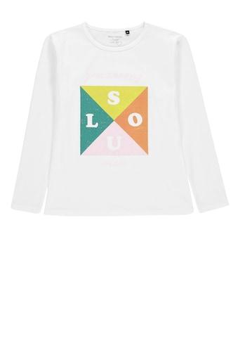 Marc O'Polo Junior Langarmshirt mit Print »Soul« kaufen